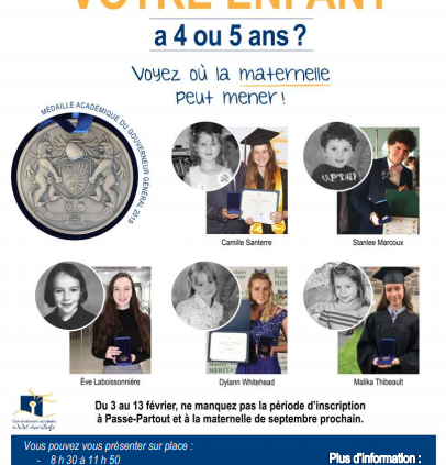 inscriptions maternelle 2020