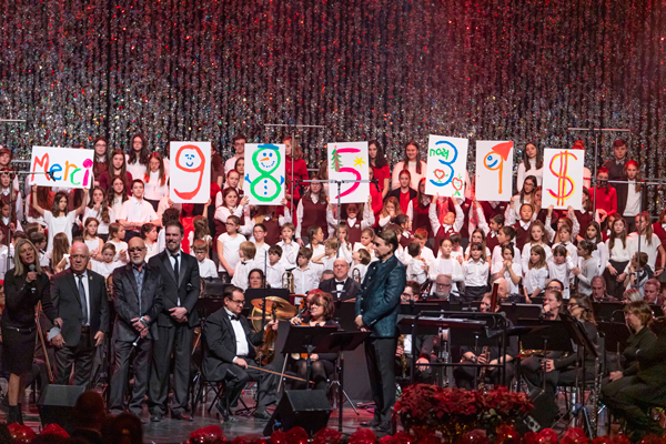 Mention de félicitations du conseil des commissaires – La Chorale de l'école